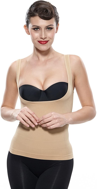 Franato Women's Shapewear Camisole Wear Your Own Bra Tank Tops Vest