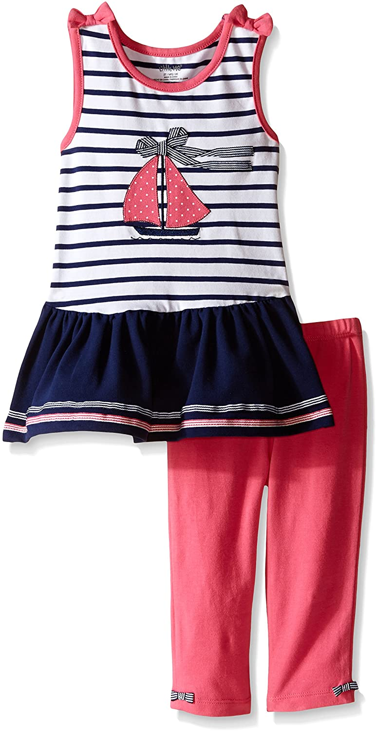Little Me Toddler Baby Girls' Tunic with Capri Set