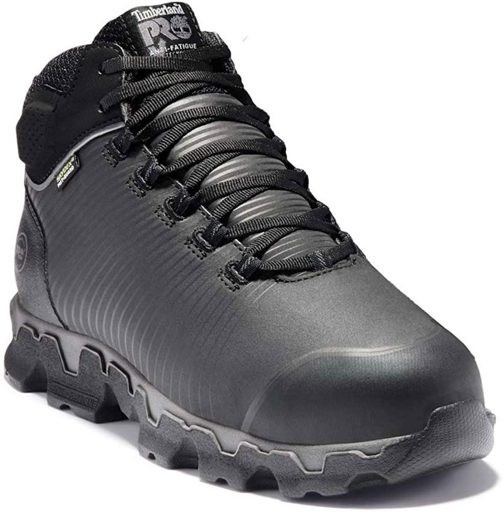 Timberland PRO Men's Powertrain Sport Alloy Toe Internal Met Guard Industrial Boot