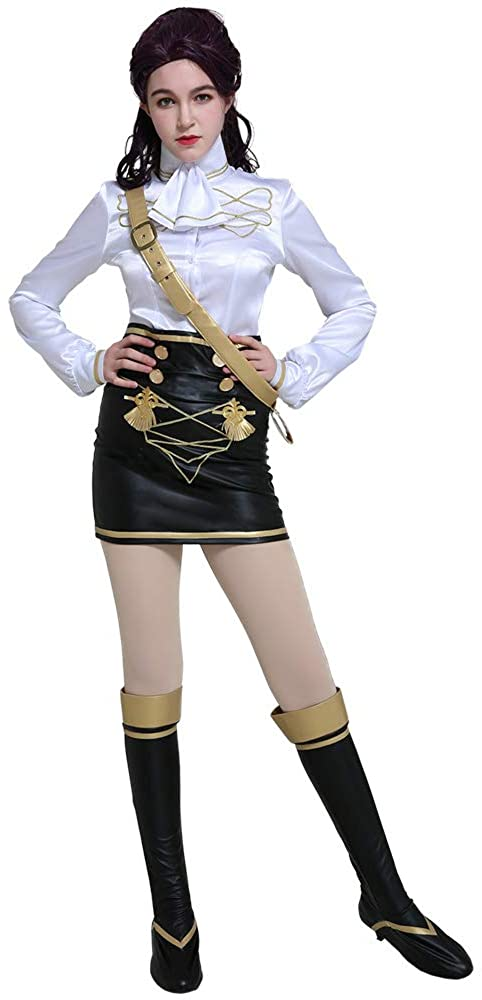 miccostumes Women's FE3H Officers Academy Uniform Petra Macneary Cosplay Costume Outfit