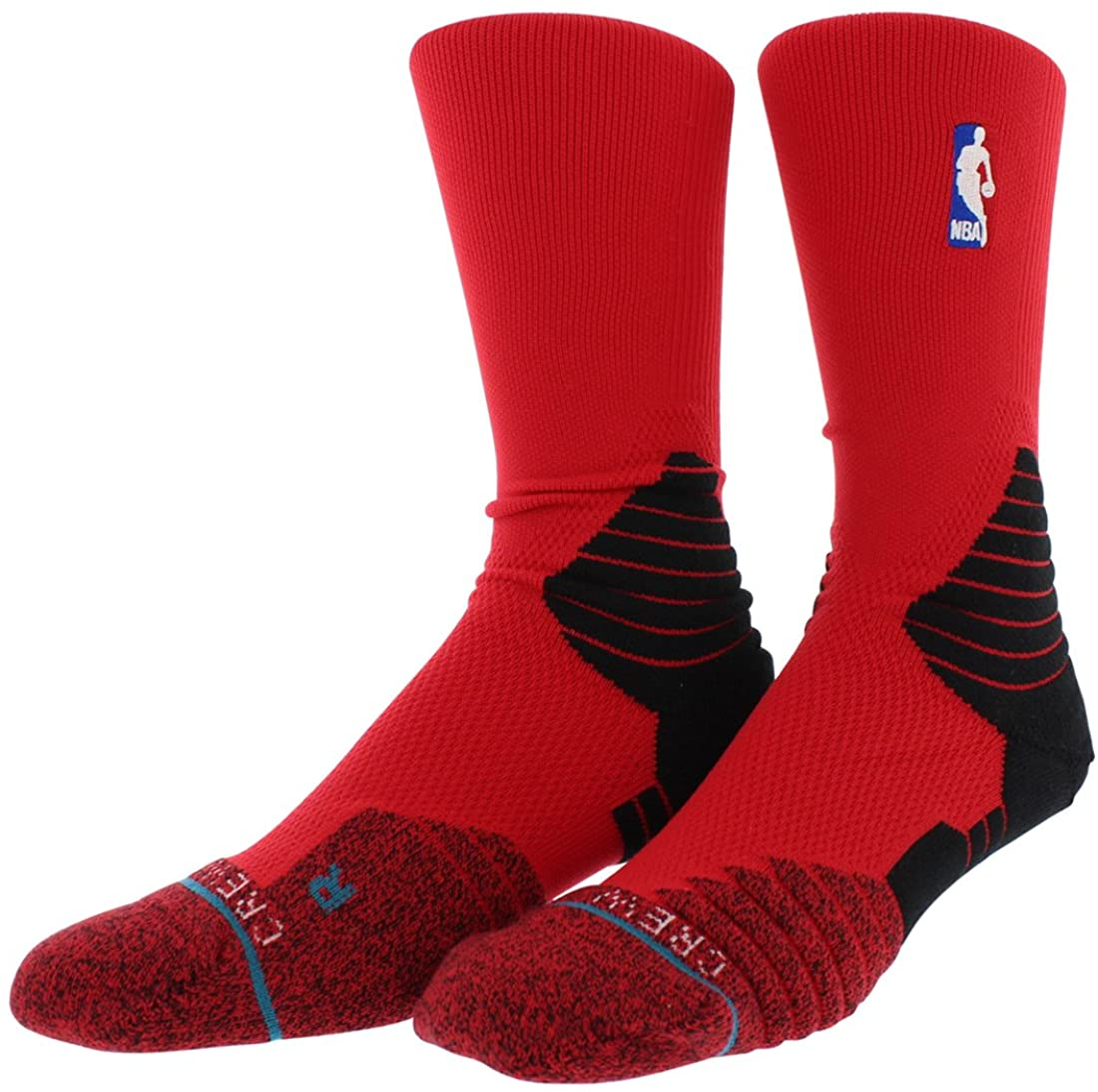 Stance Solid Crew Sock (Red)