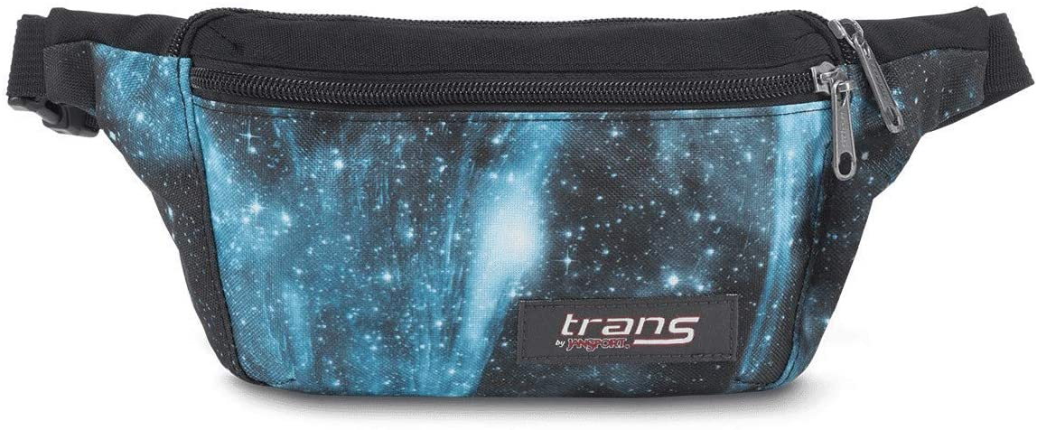 Trans by JanSport Bazoo Waist Wallet Pack Multi Blue Cosmos fanny pack