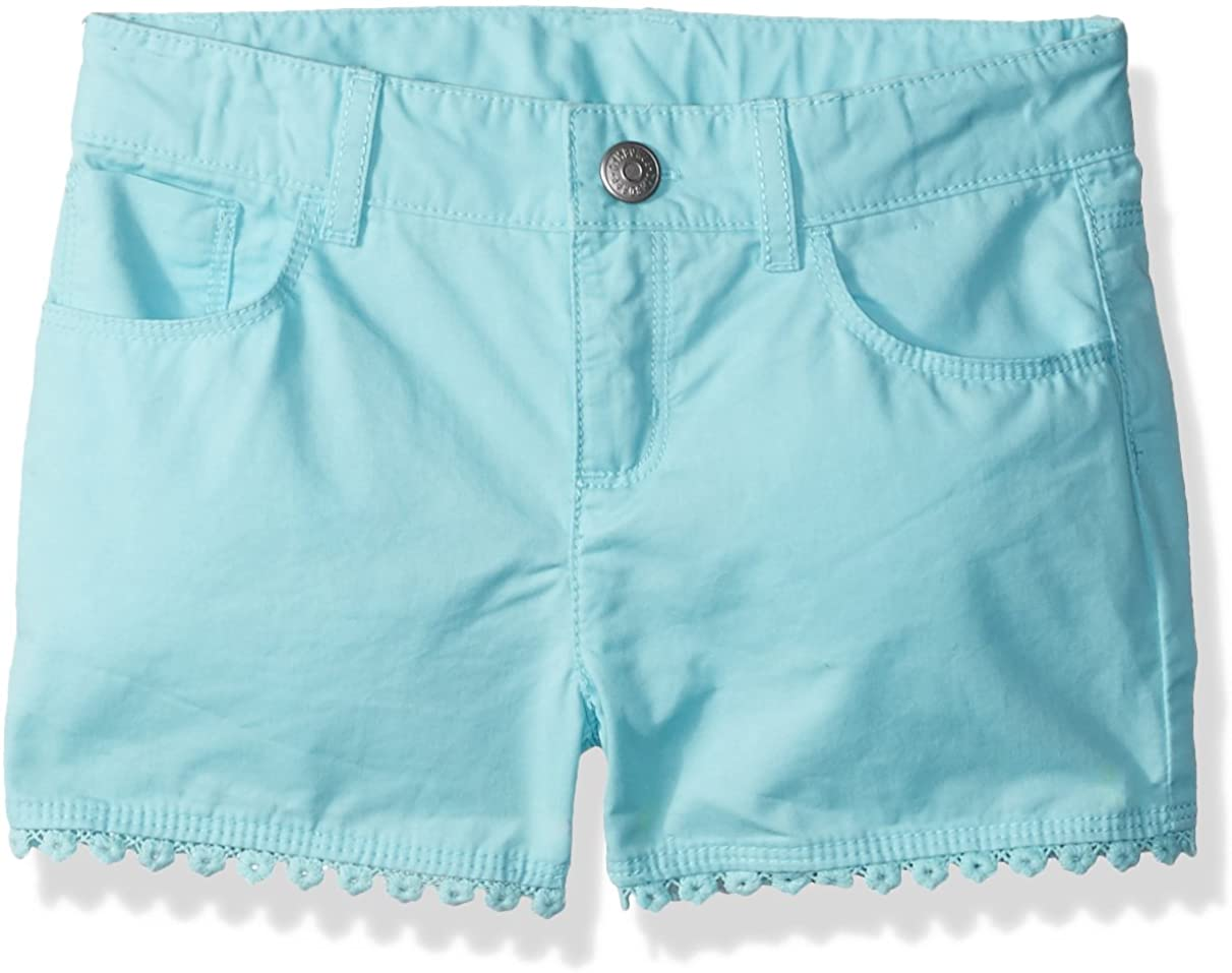 Gymboree Girls' Toddler Solid Scallop Trim Shorts