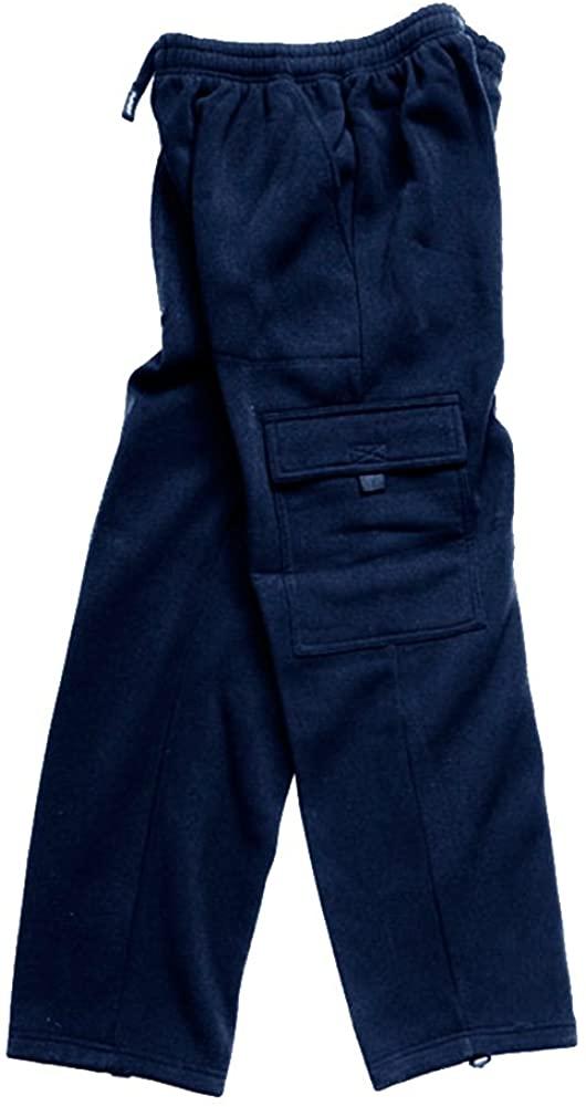 Woodland Supply Co. Men's Cargo Pocket Fleece Pants