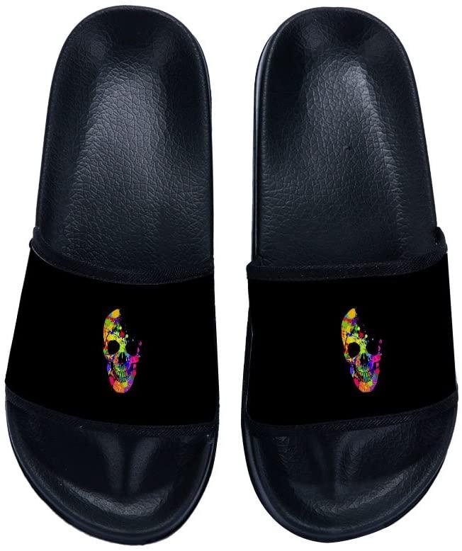 Eric Carl Men Home Sandal Quick Drying Non-Slip Shower Bath Slippers Stylish Beach Sandals