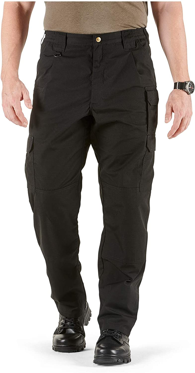 5.11 Men's Taclite Pro Tactical Pants, Style 74273, Black, 32Wx34L