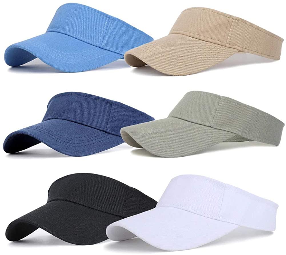 Sports Sun Visor Adjustable Outdoor Beach Running UV Protection Visor Hat