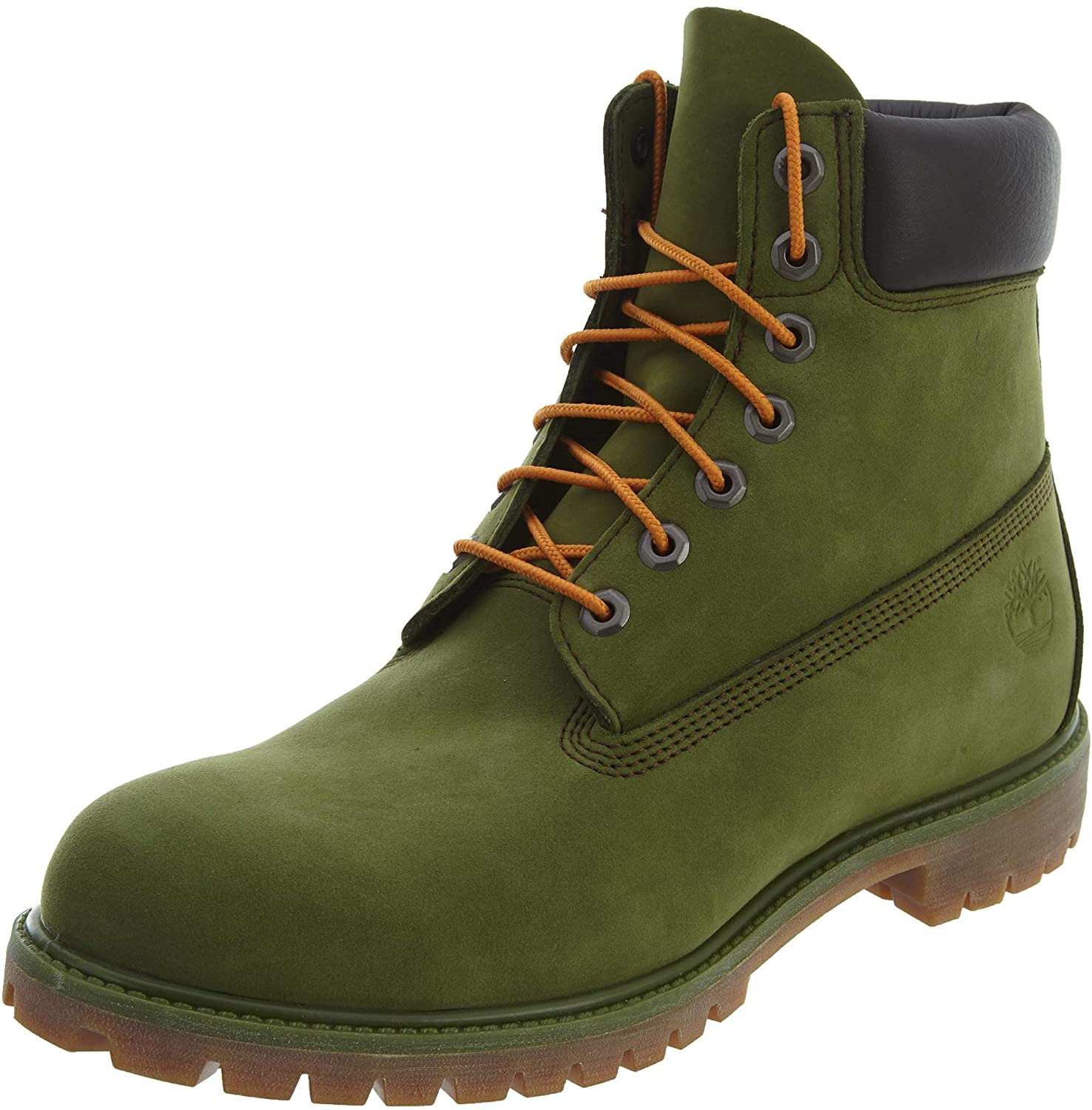 Timberland 6 Inch Premium Mens Boots Green tb0a1m72