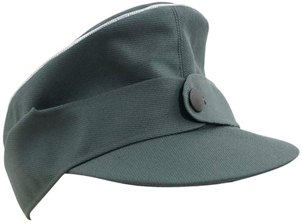 WW2 German M44 Officer Gabardine field cap field grey