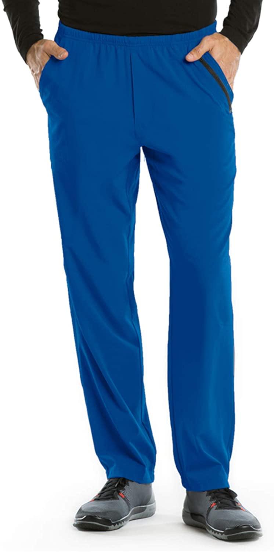 BARCO One 0217 Men's 7 Pocket Athletic Jog Scrub Pant New Royal 5XL
