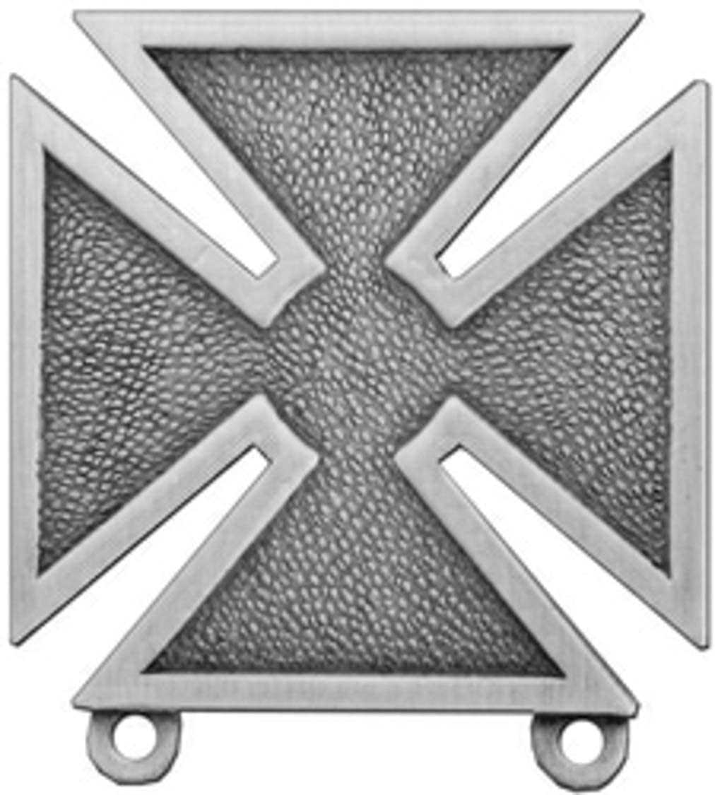 US Army Marksman Qualification Pin (antique silver, 1 1/16