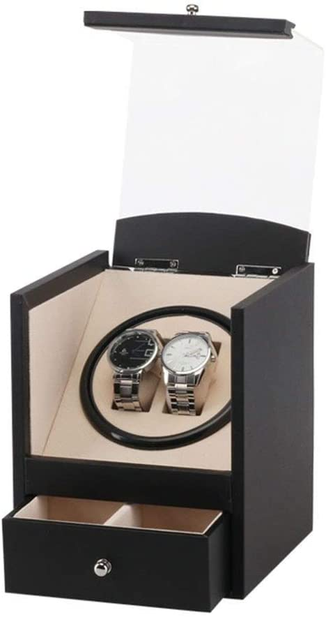 JN Watch Display Storage Box/Watch Box-PU Watch Display Box Shaker Watch Bag Rotating Table Box Jewelry Storage Box/High-end Storage Watch Box