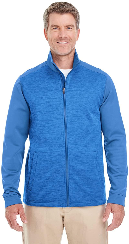 Devon & Jones Newbury Colorblock M Lange Fleece Full-Zip (DG796)