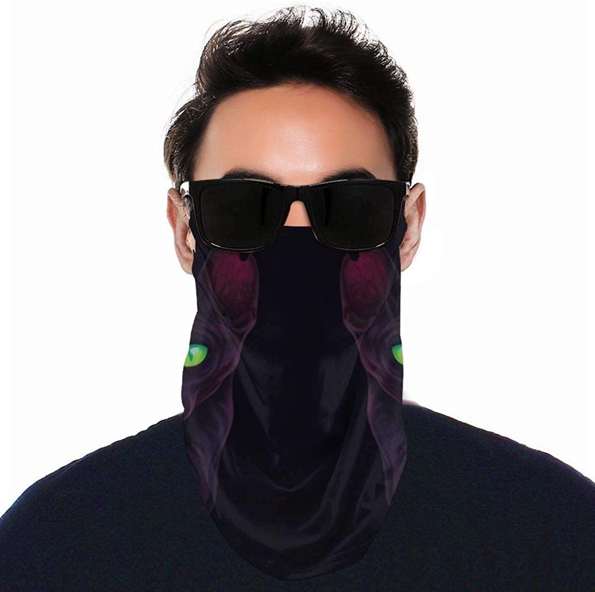 Youth Face Bandanas, Banana Reusable Face Mask Half Face Towel Mouth Cloth Facial Scarf Variety Headscarf