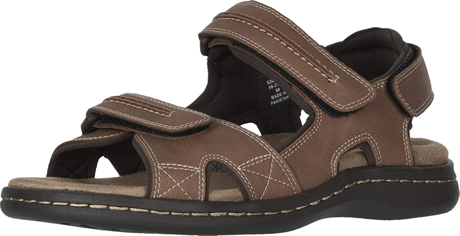 Dockers Mens Hook & Loop Sport Sandal