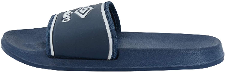 Umbro Men's Shower Slide, Navy/White