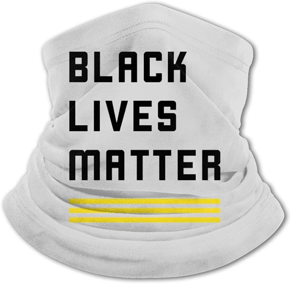 Black Lives Matter Blm Youth Face Mask Bandanas Neck Gaiter Headband Boy Girl Scarf Balaclava for Cycling Hiking Sport