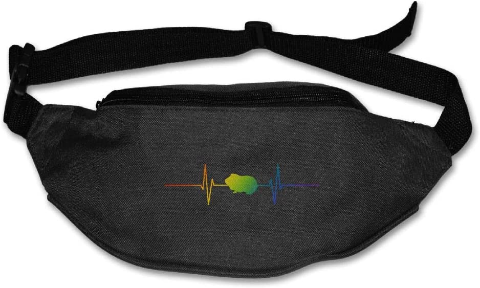 Fanny Bag Guinea Pig Heartbeat Unisex Fashion Waist Pack Bag with Adjustable Strap