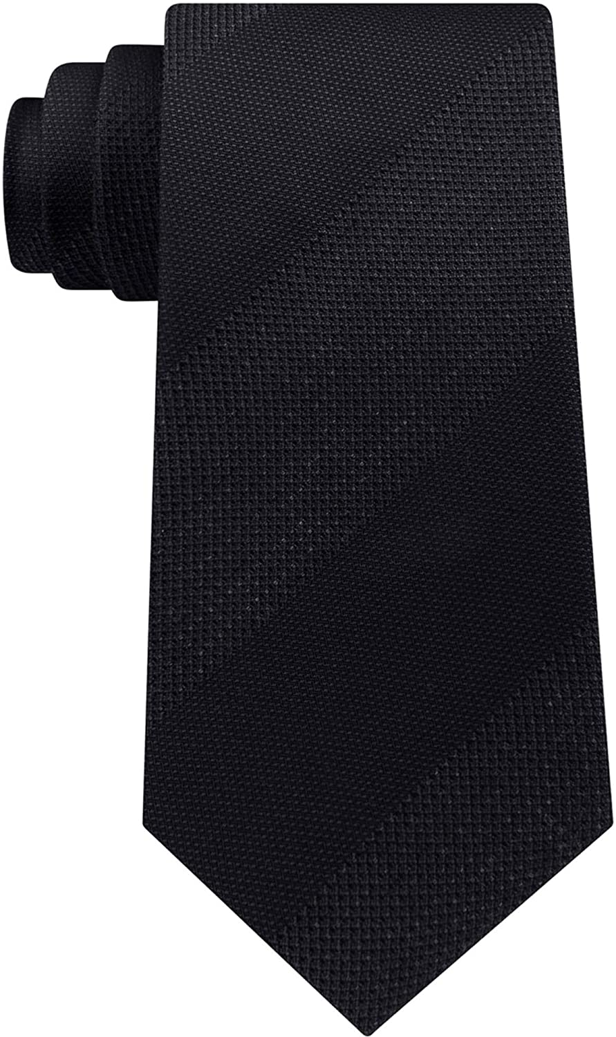 Kenneth Cole Mens Heather Bar Self-Tied Necktie