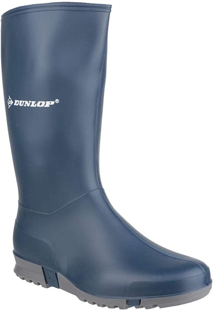 Dunlop K254711 Childrens/Kids Wellington Boots/Boys Boots/Girls Boots (2 US) (Blue)