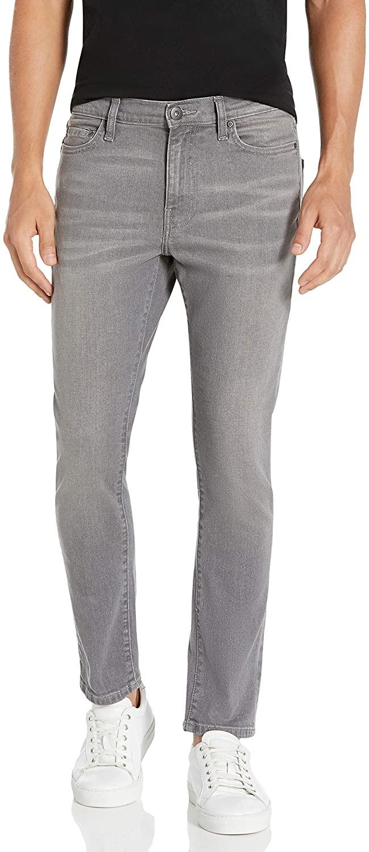 DHgate Brand - Goodthreads Men's Skinny-Fit Comfort Stretch Jean, Grey, 38W x 29L