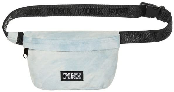 Victoria's Secret PINK DENIM BELT BAG Waist Packs, Denim