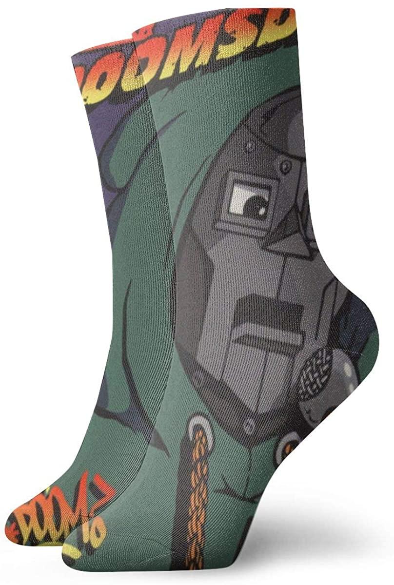 Dfmdfng MF Doom Customized Ventilating Comfort Fit Performance Socks