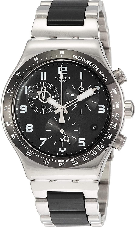 Swatch Irony Quartz Movement Black Dial Men's Watch YVS441G