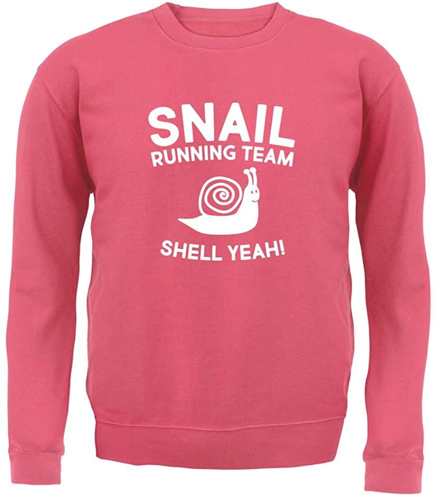 Snail Running Team - Unisex Crewneck Sweater/Jumper