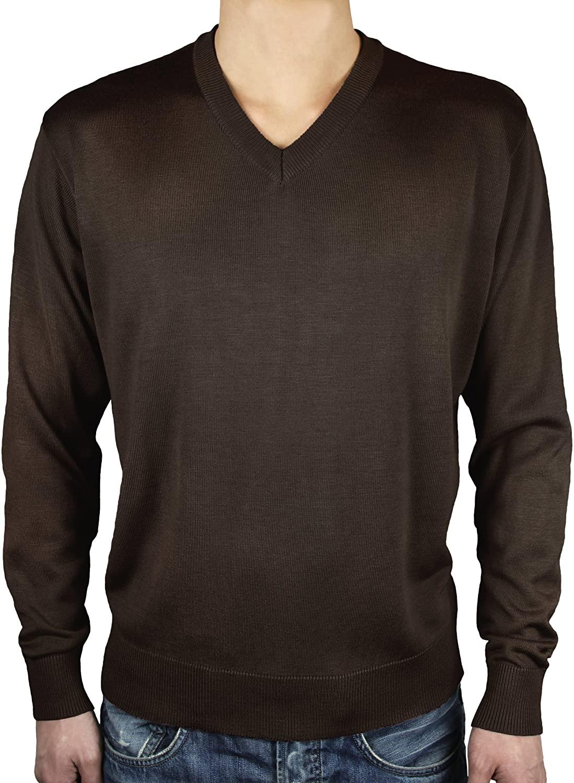 Blue Ocean V-Neck Sweater