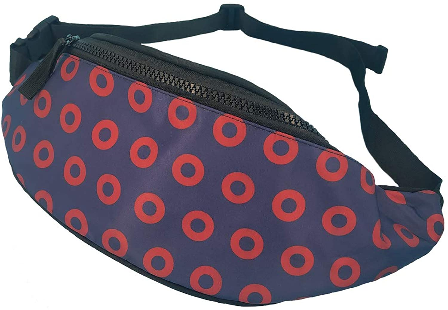 Pizza With Alien Fanny Pack Lightweight Waist Bag With Adjustable Strap For Men Women