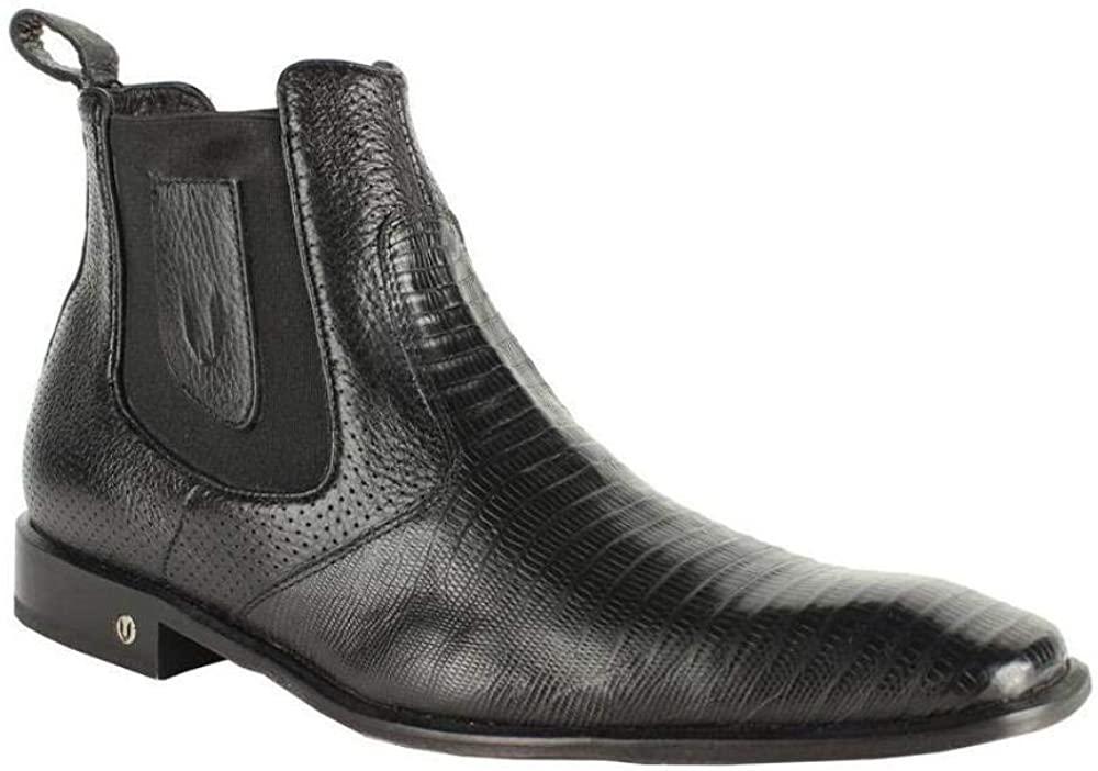 Men's Vestigium Genuine Lizard Chelsea Boots Handcrafted