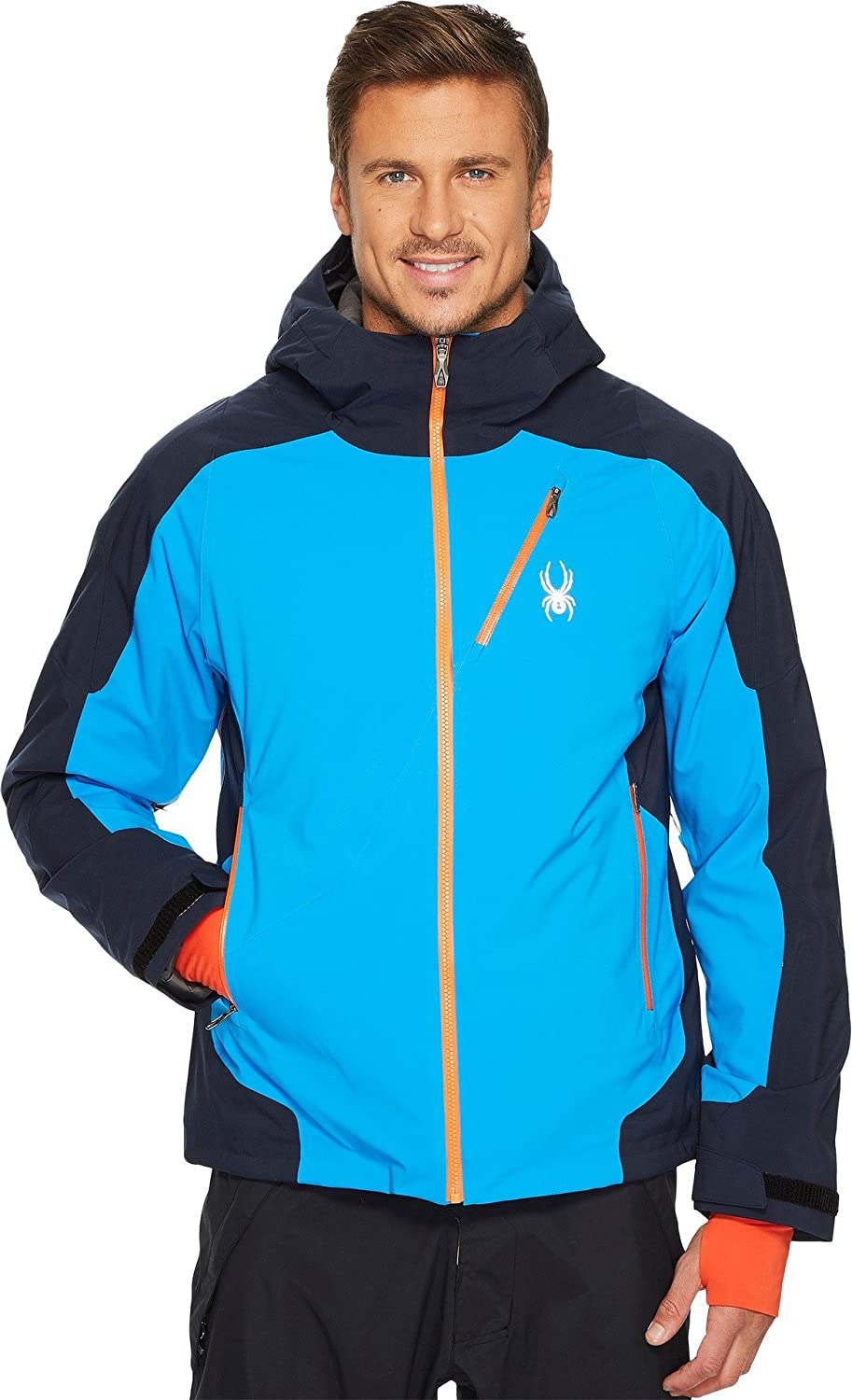 Spyder Men's Laax Jacket French Blue/Frontier/Frontier Small