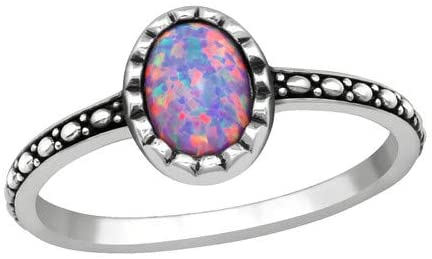 Caratera Oval Jeweled Rings 925 Sterling Silver