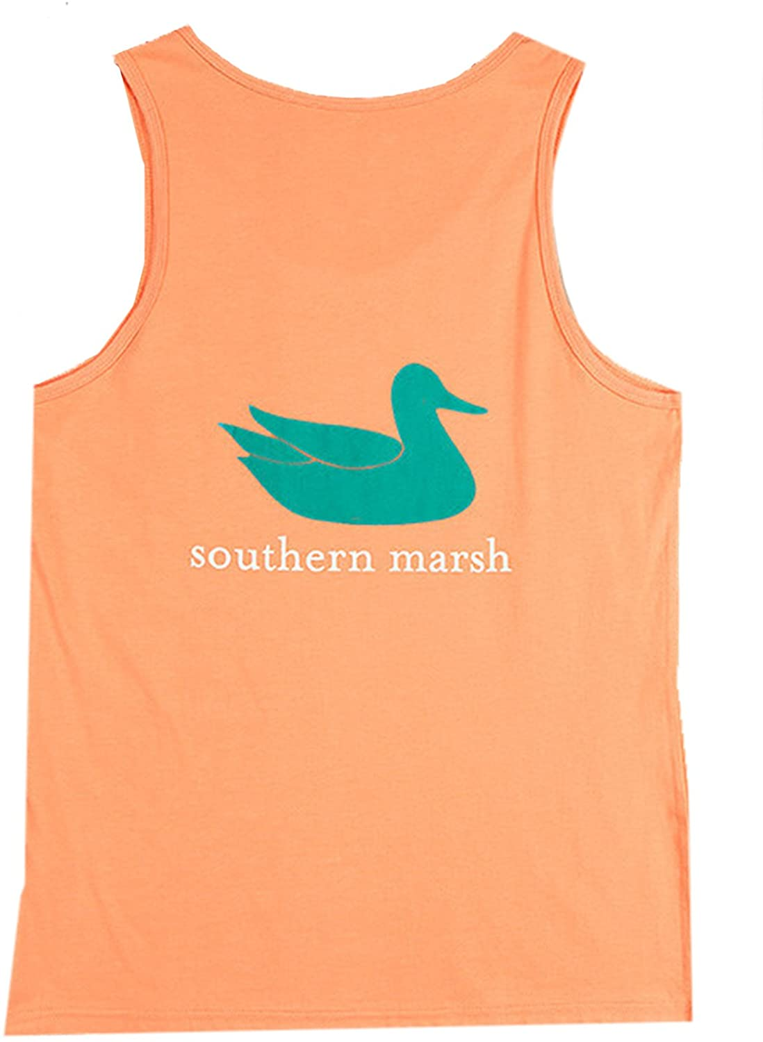 Authentic - Tank, Melon with Squall Green, Small