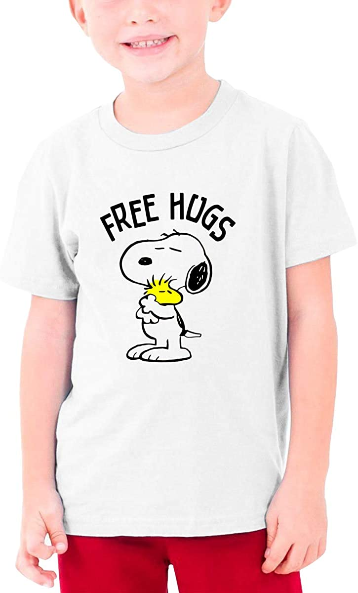 Tpoeaeoia Youthsnoopy T-Shirt, Casual and Breathable.