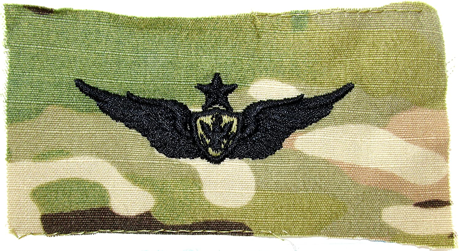 Aircraft Crewman Qualification Badge - Multicam SEW-ON