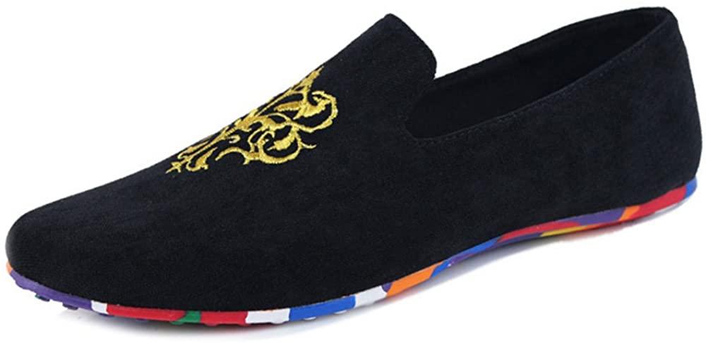 JINTOHO Men Loafers Summer Breathable Men Casual Shoes Slip On Men Flats