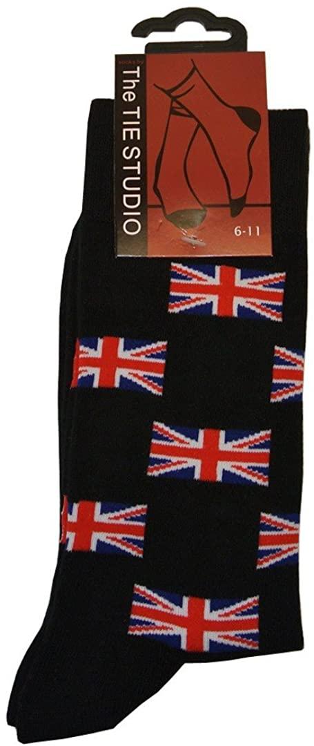Union Jack Flag Unisex Novelty Ankle Socks Adult Size 6-11