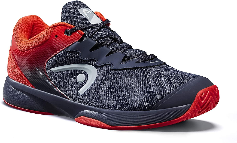 Headgear Mens Tennis Shoes, Blue Midnight Navy Neon Red Mnnr, 39