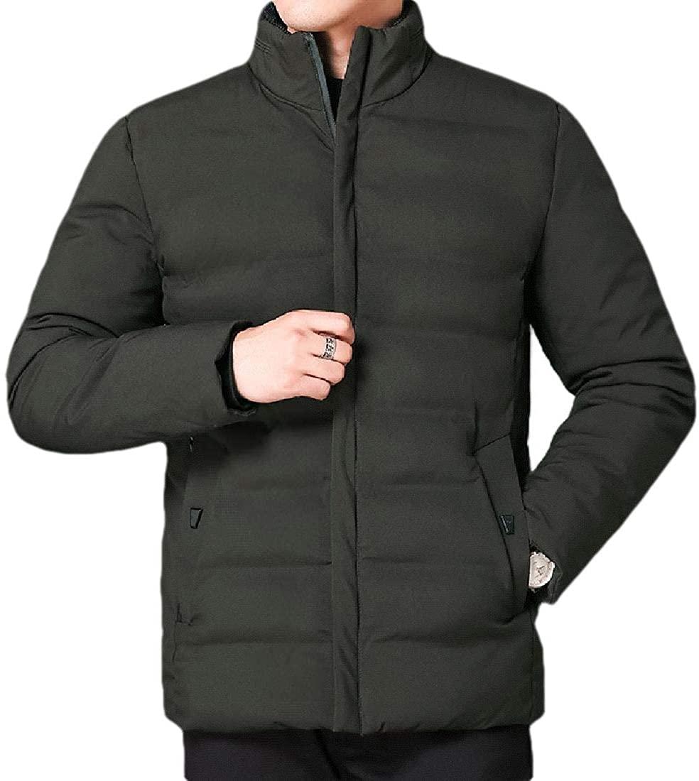 CYJ-shiba Womens Men's Lightweight Packable Stand Collar Down Puffer Jacket Parka Outwear