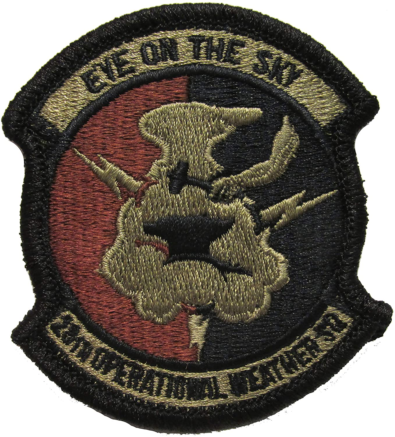 28th Operational Weather Squadron OCP Patch - Spice Brown