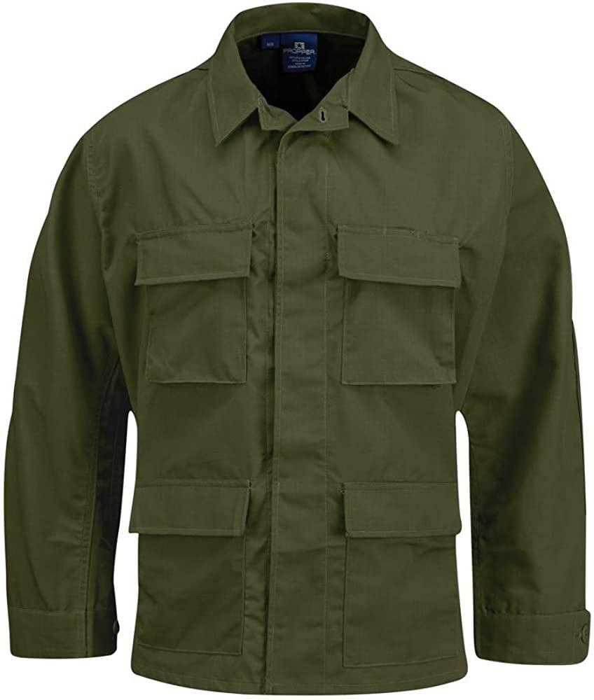 Propper Men's BDU Coat, Olive, Small Long