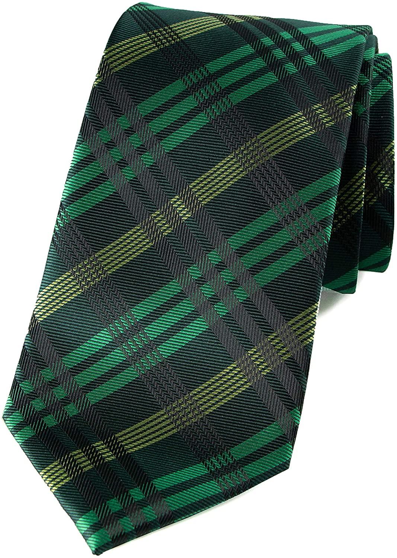 Spring Notion Men's Plaid Woven Necktie
