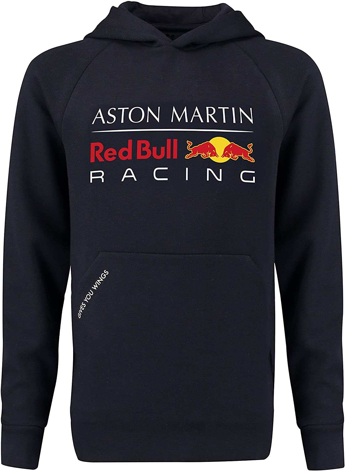 Red Bull Racing Aston Martin Kids Blue Authentic F1 Pull Over Hoodie
