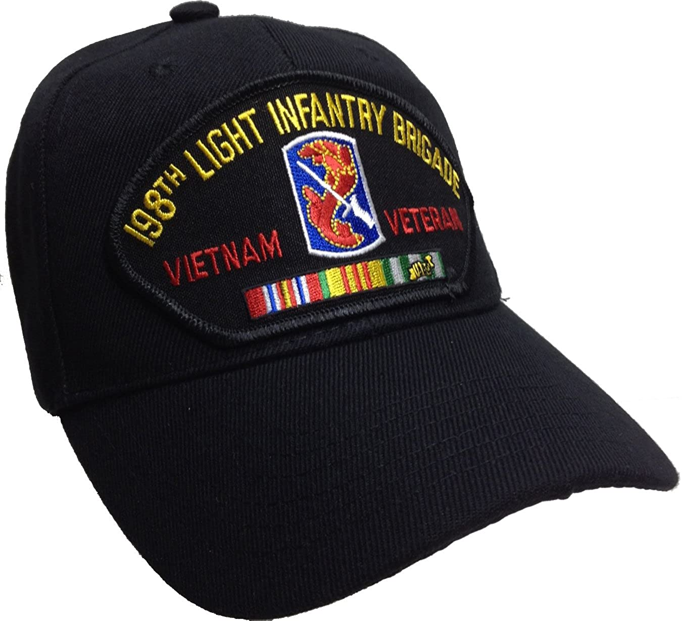Hawkins Military Merchants 198th Light Infantry Brigade Hat Vietnam Veteran