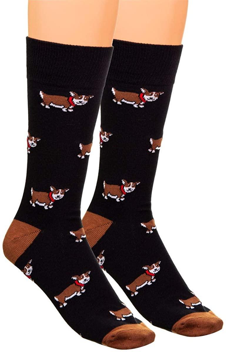 Unisex Novelty Crew Length Funny Socks