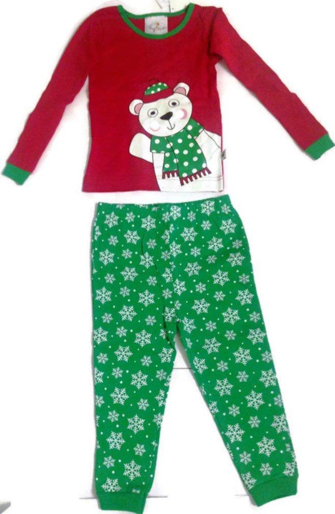 Polar Bear Pajama Set (Size 4T) - Fits More Like 2T