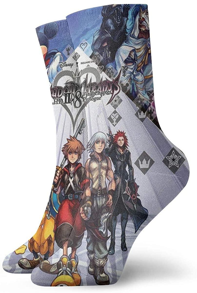 Kingdom Hearts Magic Gathering Socks, High Ankle Socks Halloween Socks