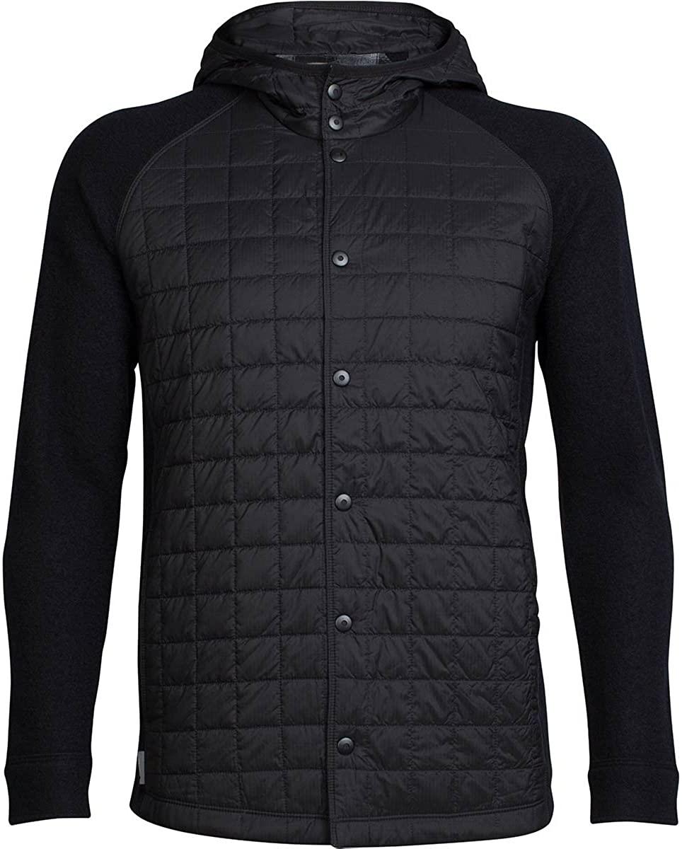 Icebreaker Merino Men's Departure Jacket, Merino Wool